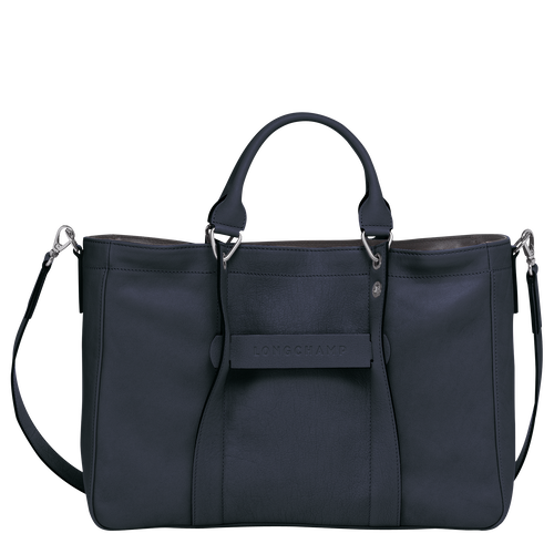 Top handle bag M, Midnight blue - View 1 of  3 -