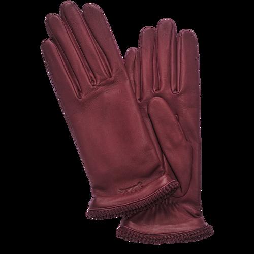 Ladies' gloves, 009 Burgundy, hi-res