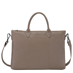 Top handle bag, Taupe
