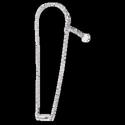 Halskette, Silber-Finish