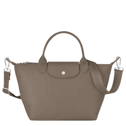 Top handle bag S, Taupe