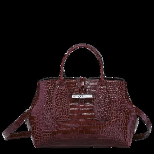 Top handle bag M, Burgundy - View 1 of  4 -