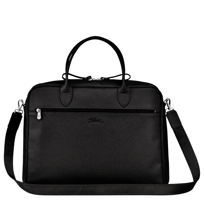 Briefcase M, Black - View 3 of  3 - zoom in