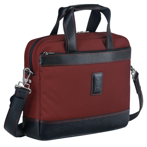 Briefcase S, Red lacquer - View 2 of  3 -