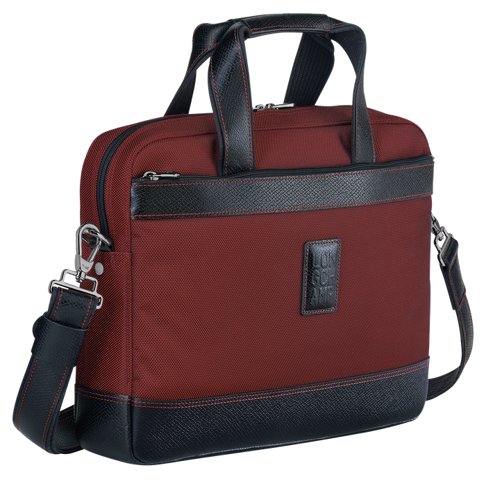 Briefcase S, Red lacquer - View 2 of  3 - zoom in