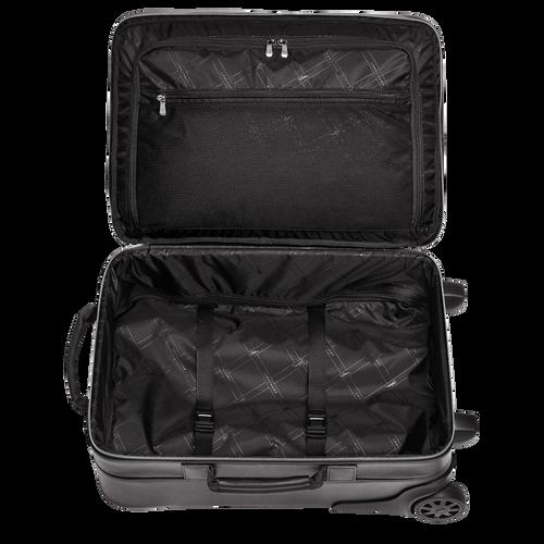 Handgepäck-Koffer, Schwarz - Ansicht 3 von 3 -