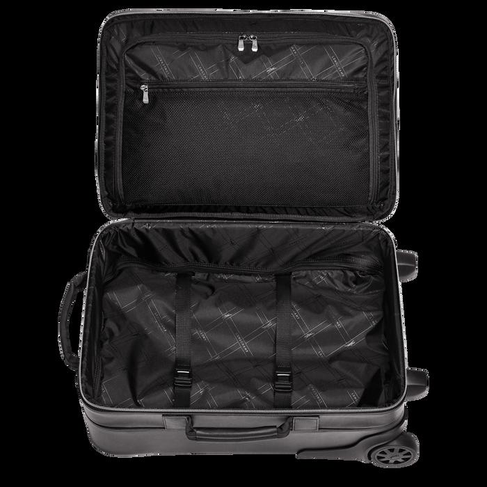 Handgepäck-Koffer, Schwarz - Ansicht 3 von 3 - Zoom vergrößern