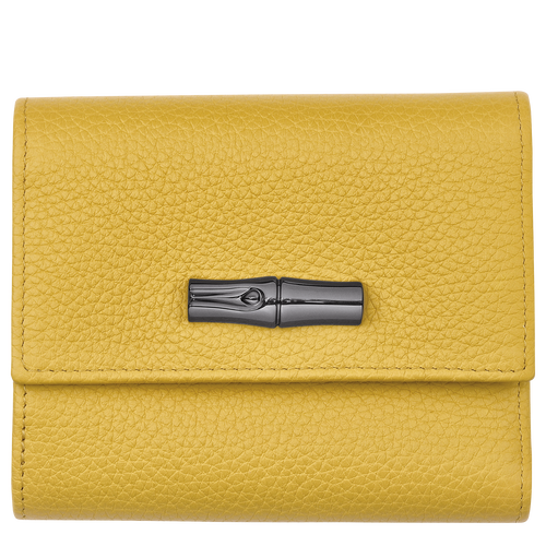 Compact wallet, Yellow - View 1 of  2 -