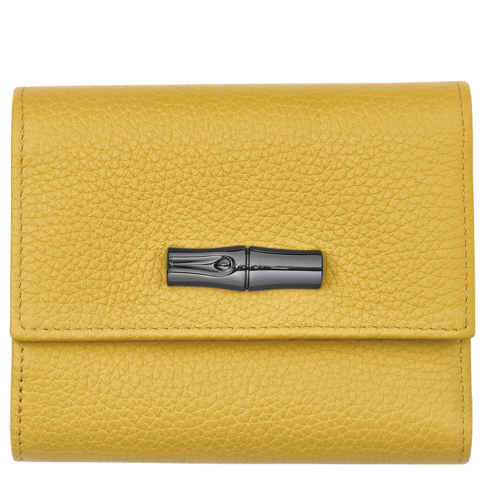 Compact wallet, Yellow - View 1 of  2 - zoom in