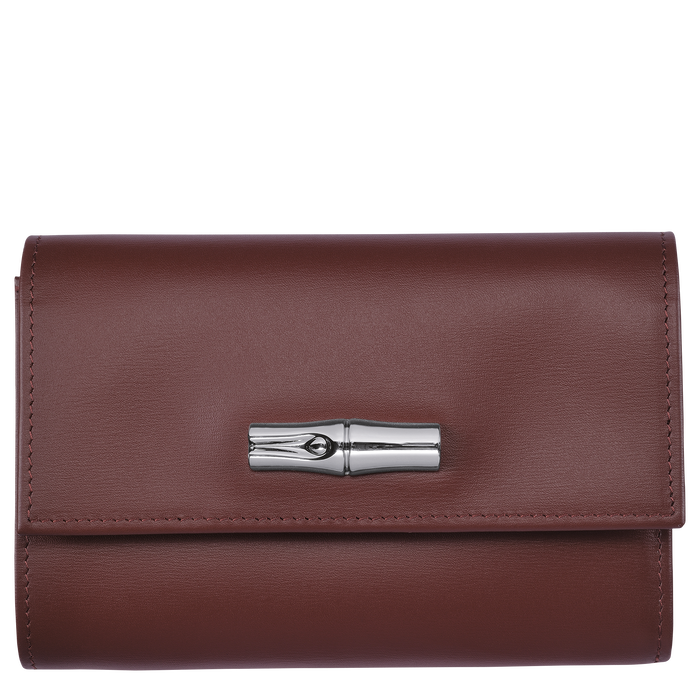 Compact wallet, Mahogany - View 1 of  2 - zoom in
