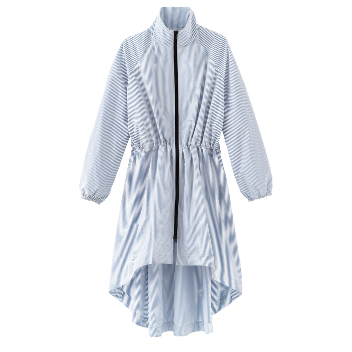 Spring-Summer 2021 Collection Coat, Sky Blue