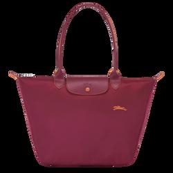 Shoulder bag L, Garnet red