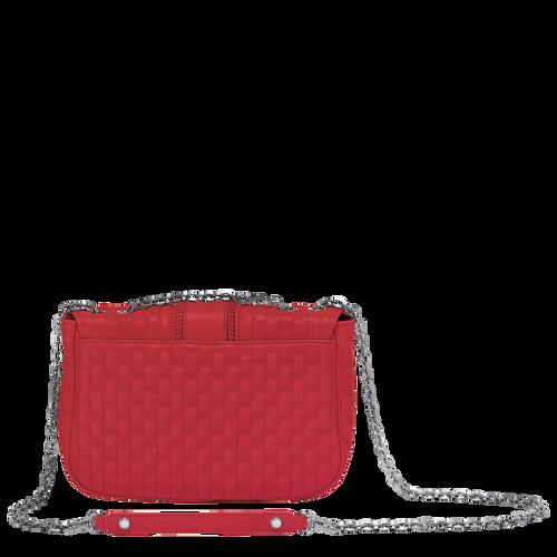 Crossbody bag S, Red, hi-res - View 3 of 3