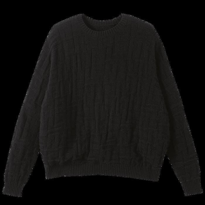 Pullover, Schwarz/Ebenholz - Ansicht 1 von 1 - Zoom vergrößern