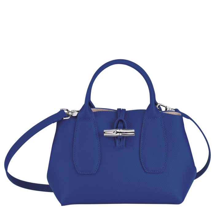 Roseau Top handle bag S, Blue