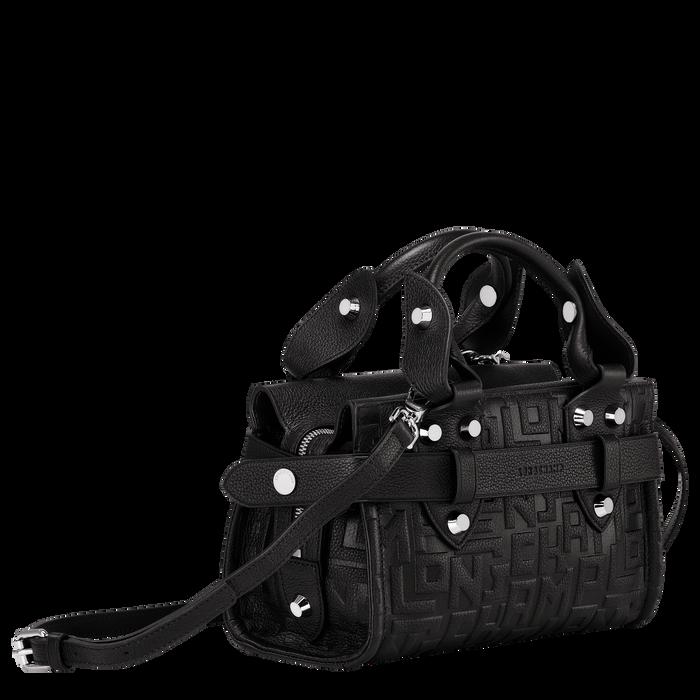 Top handle bag S, Black/Ebony - View 2 of  3 - zoom in