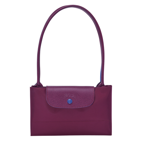 Shoulder bag L, Plum, hi-res - View 3 of 3