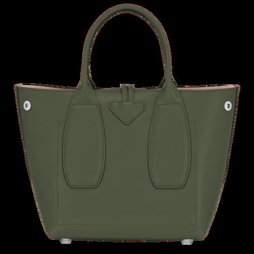 Bolso con asa superior, Verde Oscuro - Vista 4 de 4 -