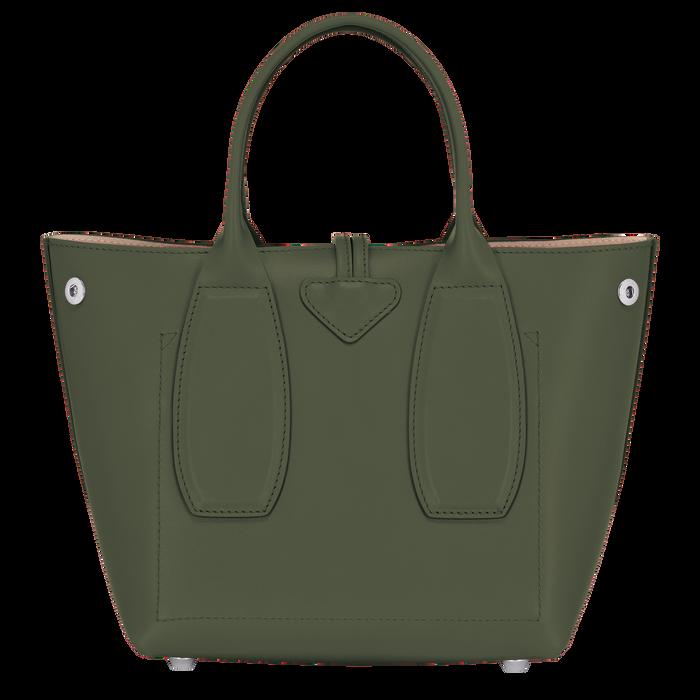 Bolso con asa superior, Verde Oscuro - Vista 4 de 4 - ampliar el zoom