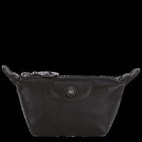 Le Pliage Cuir Coin purse, Black