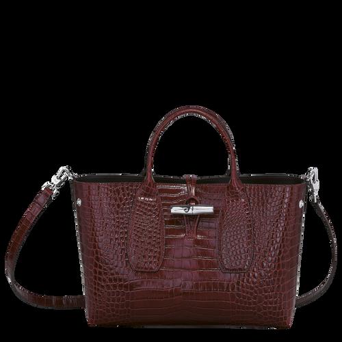 Top handle bag M, Burgundy - View 2 of  4 -