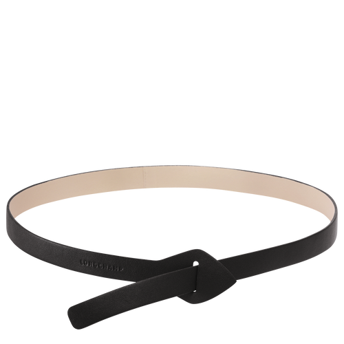 View 1 of Women's belt, F01 Black/Chalk, hi-res