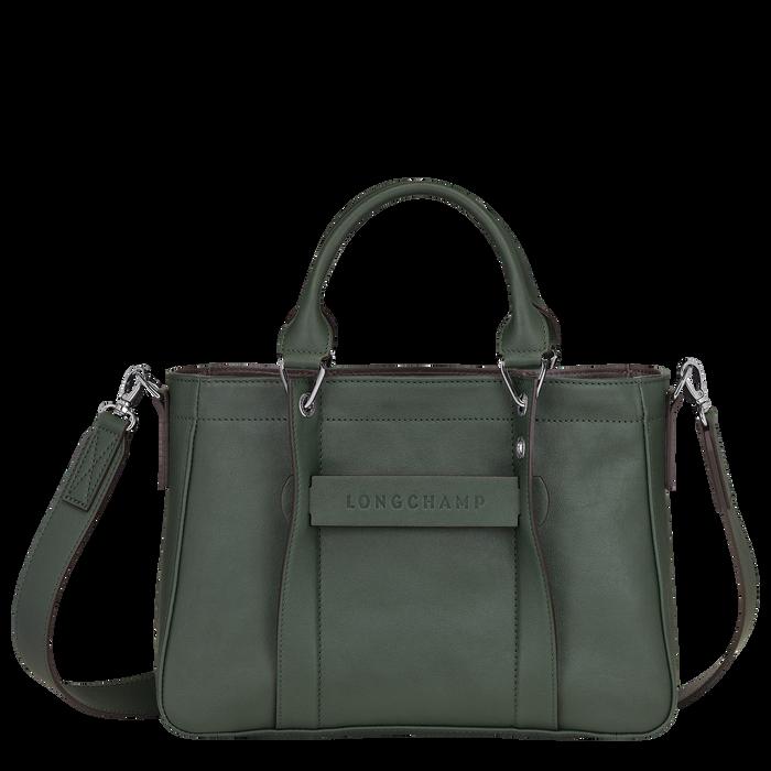 탑 핸들백 S, Longchamp Green - 1 이미지 보기 3 - 확대하기