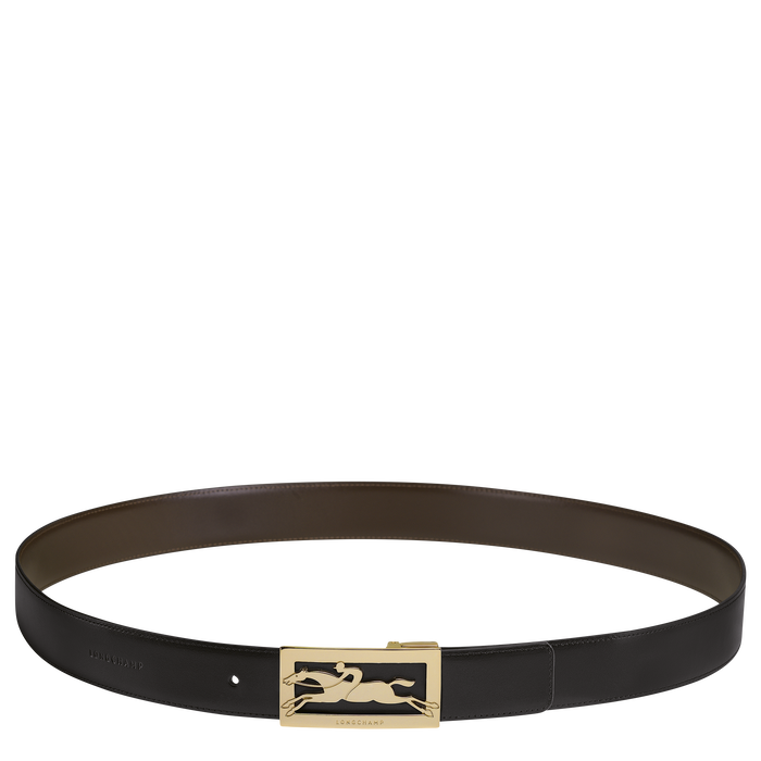 Men's belt, Black/Mocha - View 1 of  1 - zoom in