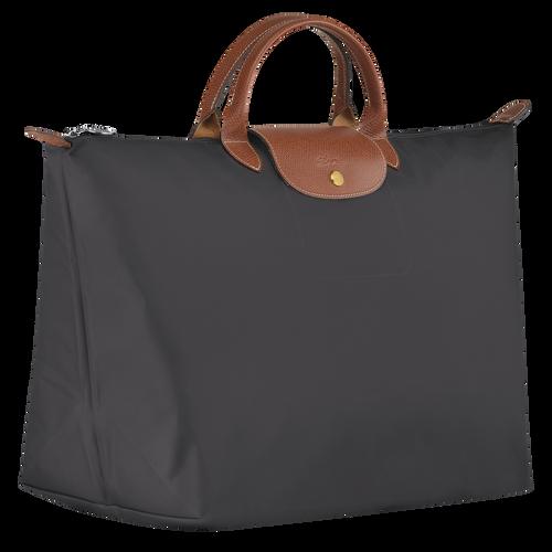 Le Pliage Travel bag L, Gun metal