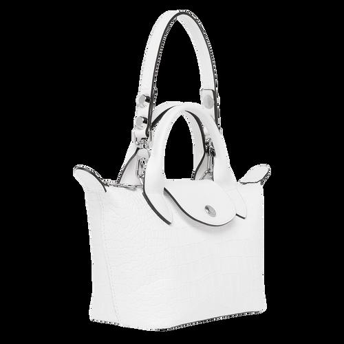 View 2 of Mini top-handle bag, White, hi-res