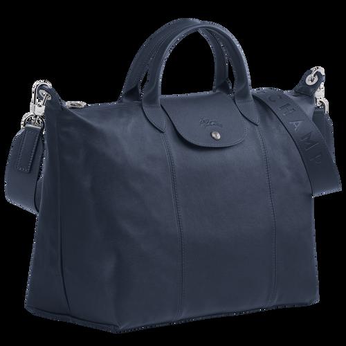 Top handle bag L, Navy - View 2 of 4 -
