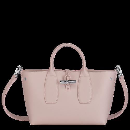 Top handle bag M, Powder/Ivory - View 2 of  5 -