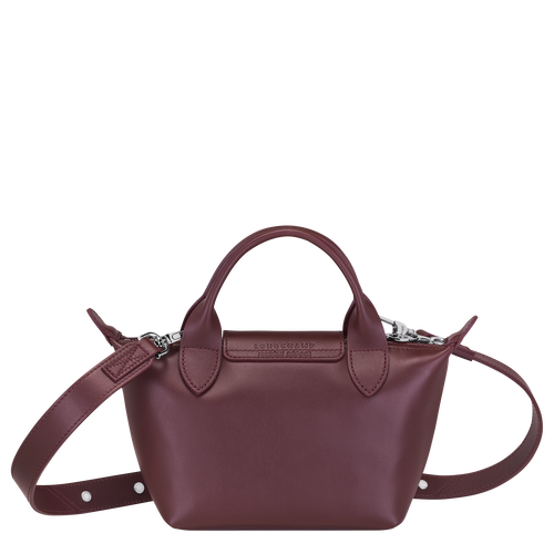 Mini top-handle bag, Brandy, hi-res - View 3 of 3