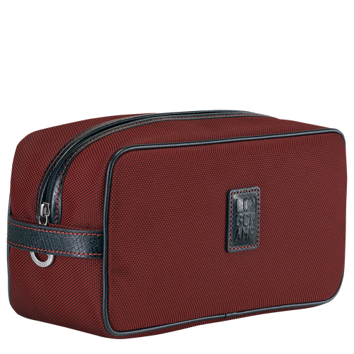 Toiletry case, Red lacquer - View 2 of  3 -