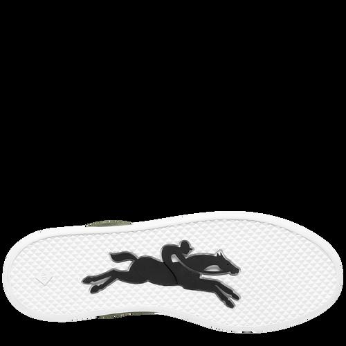 Sneaker, Longchamp-Gr�n - Ansicht 5 von 5 -