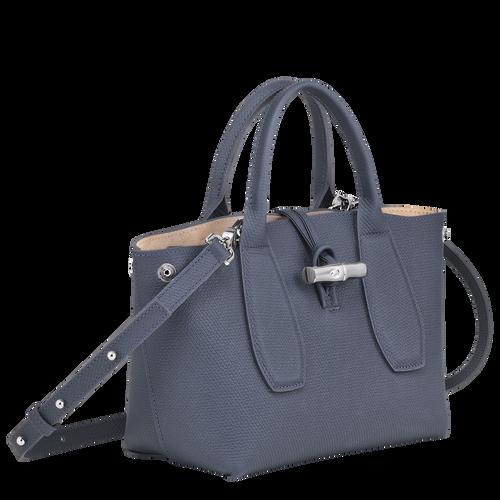 Top handle bag S, Pilot blue, hi-res - View 3 of 4