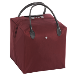 Top-handle bag M, E53 Burgundy/Black, hi-res