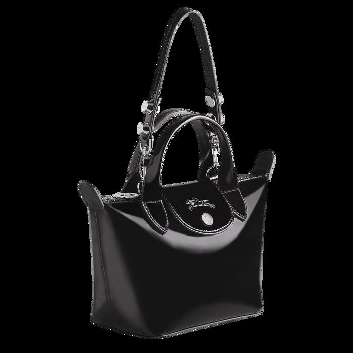 Top handle bag XS, Black/Ebony - View 2 of  3 - zoom in