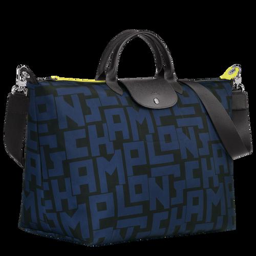 Travel bag L, Black/Navy - View 2 of 3 -