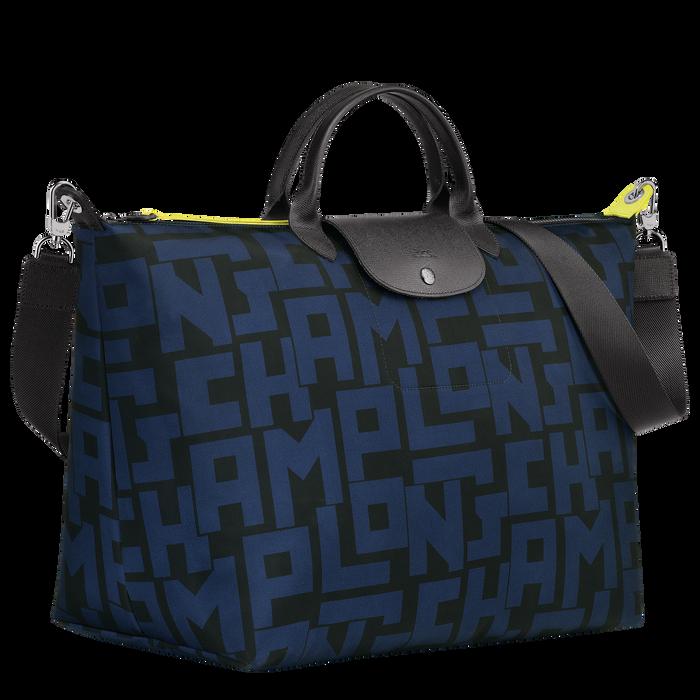 Travel bag L, Black/Navy - View 2 of 3 - zoom in