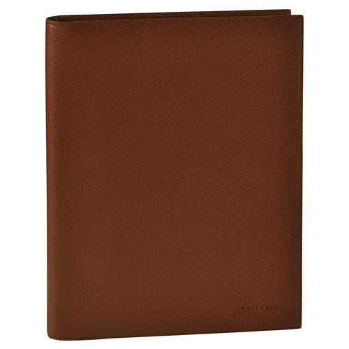 Notepad cover, 504 Cognac, hi-res