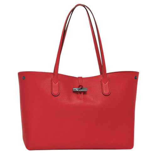 Essential Shoulder bag L, Red, hi-res - View 1 of 3