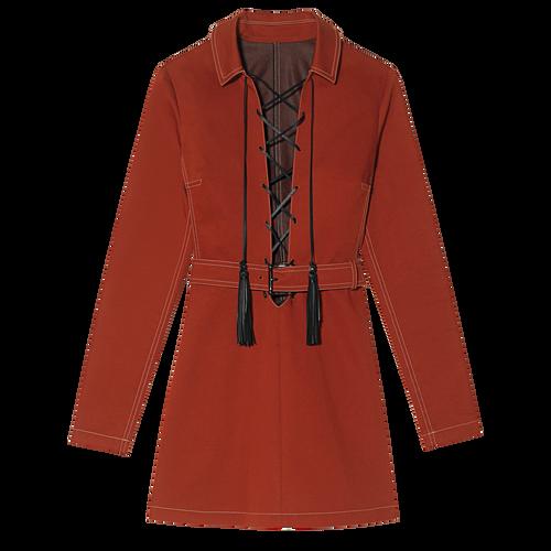 Kleid, 608 Zinnoberrot, hi-res