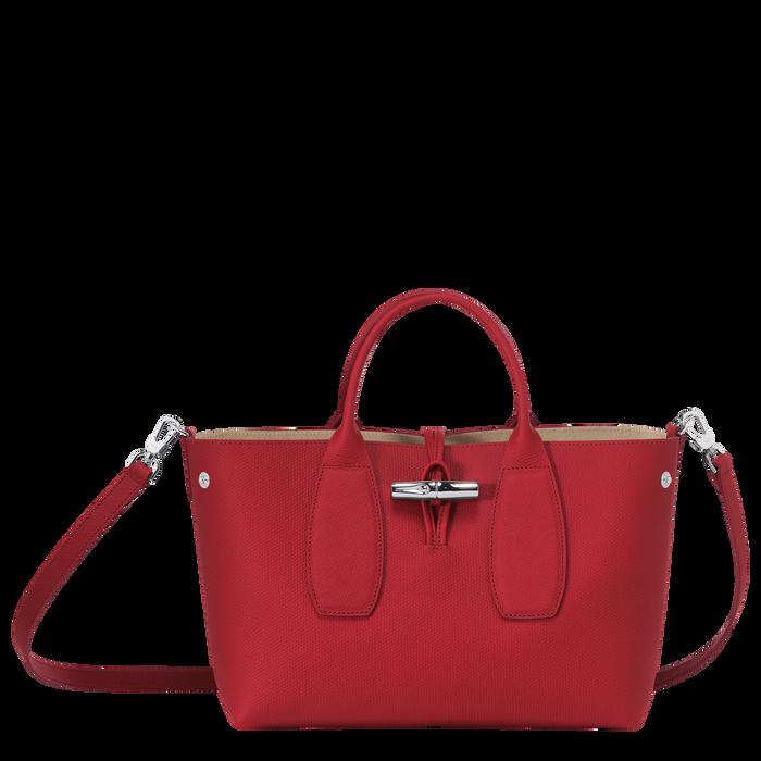 Roseau Top handle bag M, Red