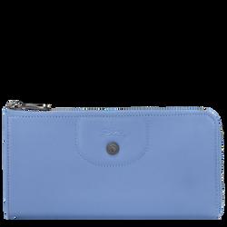 Langformat Brieftasche mit Reissverschluss