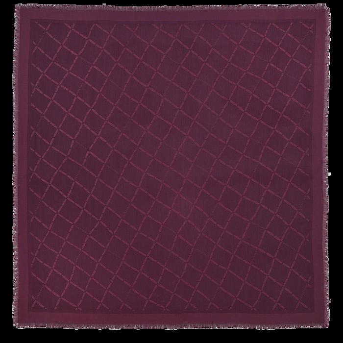 Damenschal, Aubergine - Ansicht 1 von 1 - Zoom vergrößern