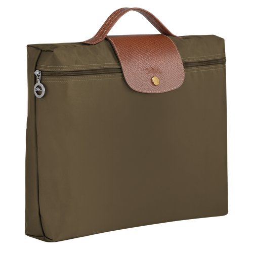 Briefcase S, Khaki - View 2 of  4 -