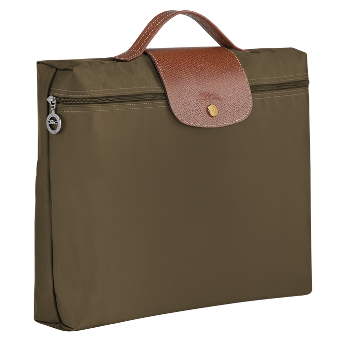 Briefcase S, Khaki - View 2 of  4 - zoom in