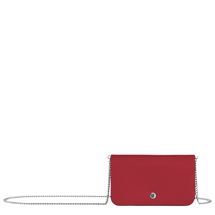 Wallet on chain, Red - View 1 of 3 - zoom in