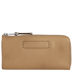 Long wallet with zip around